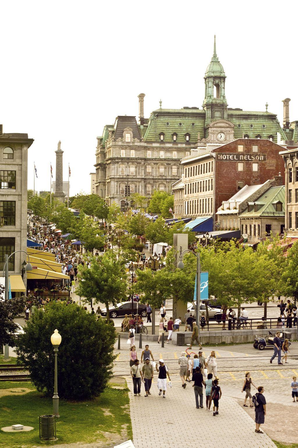 Montreal Altstadt Karte.Tourismus Montreal Sehenswurdigkeiten Viamichelin